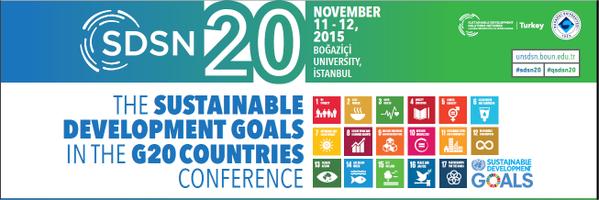 Live Streaming SDSN 20 Conference, Turkey 11,12 November