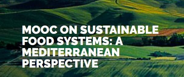 "News: MOOC ""Sustainable Food Systems: A Mediterranean Perspective"" in Italian and French"