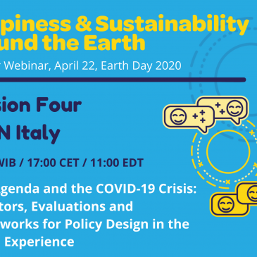Happiness & Sustainability Around the Earth, 24 Hour Webinar, April 22, Earth Day 2020