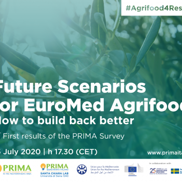 Future Scenarios for EuroMed Agrifood, 15 July, 2020