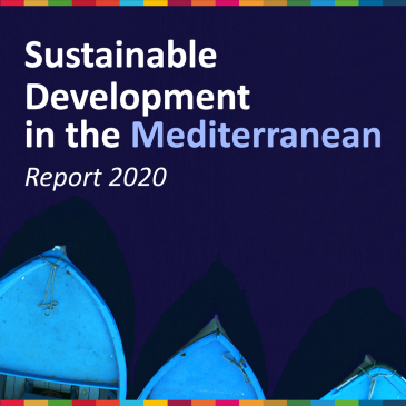 "Launch of the 2020 Report ""Sustainable Development in the Mediterranean"", November 12, 2020"